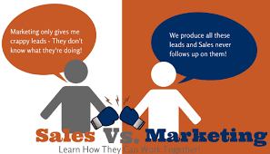 Marketing v Sales : What's The Difference?